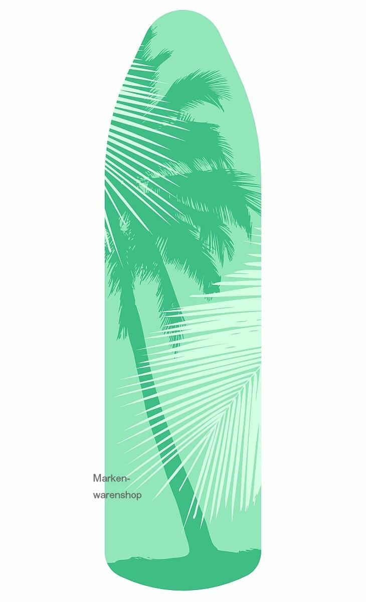 leifheit b geltischbezug palme gr n 140x45cm b gelbezug. Black Bedroom Furniture Sets. Home Design Ideas