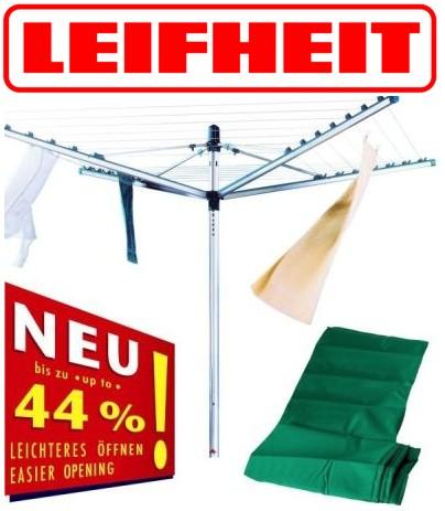 neu leifheit 85632 w schespinne linomatic m 400 schutzh lle ebay. Black Bedroom Furniture Sets. Home Design Ideas