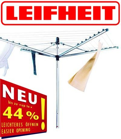 neu angebot w schespinne leifheit linomatic modell w hlbar h lle easyclip. Black Bedroom Furniture Sets. Home Design Ideas