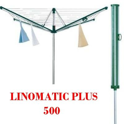 top modell leifheit w schespinne linomatic plus 500 bodenh lse ebay. Black Bedroom Furniture Sets. Home Design Ideas