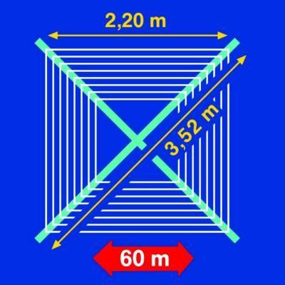 Leifheit Wäschespinne Linomatic Plus 600+Zubehörset B