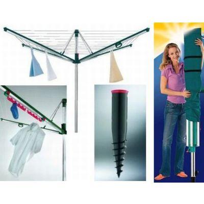 leifheit w schespinne linomatic plus 600 zubeh rset g ebay. Black Bedroom Furniture Sets. Home Design Ideas