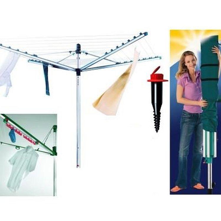 neu leifheit w schespinne linomatic s deluxe 600. Black Bedroom Furniture Sets. Home Design Ideas