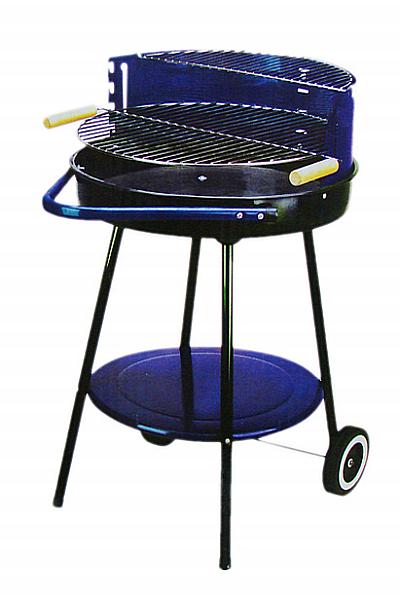 top angebot grill holzkohlegrill kohlegrill blau 51cm ebay. Black Bedroom Furniture Sets. Home Design Ideas