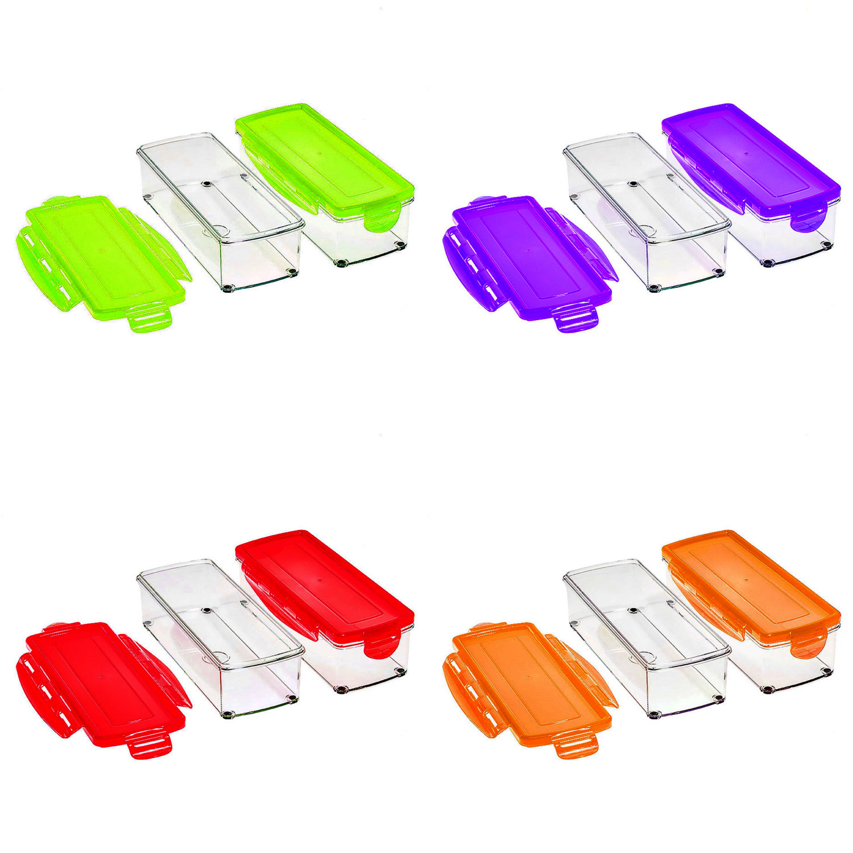 auswahl nicer dicer plus 1500ml auffangbeh lter set 4 6 8 12 tlg versch farben ebay. Black Bedroom Furniture Sets. Home Design Ideas