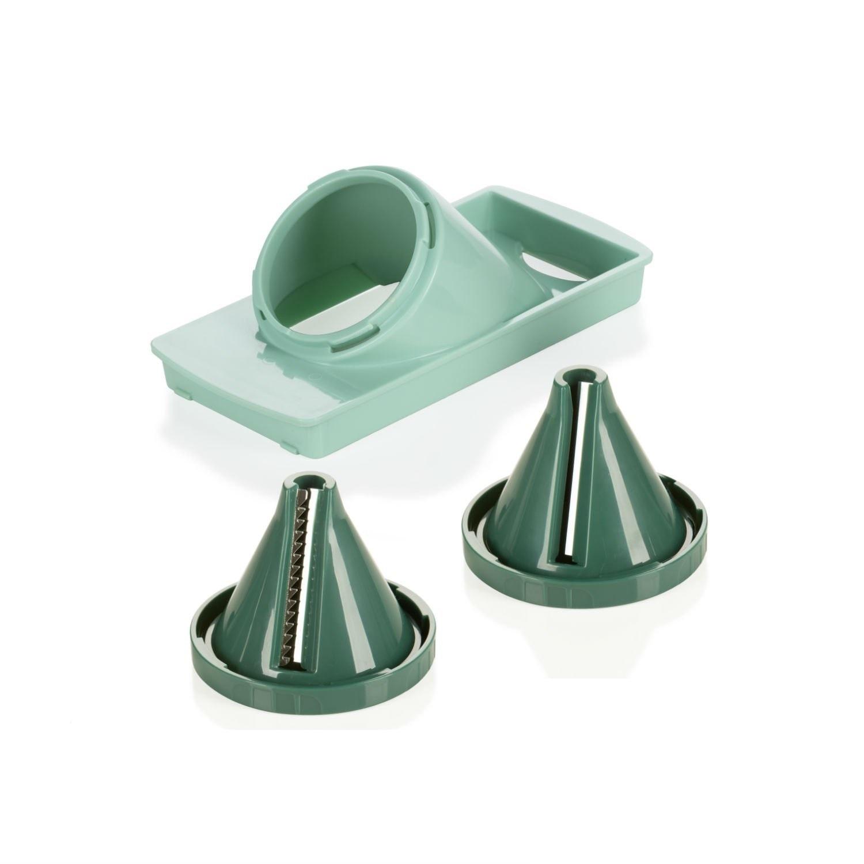 genius f r nicer dicer cube julietti set 3tlg spiralschneider mintgr n 33751 ebay. Black Bedroom Furniture Sets. Home Design Ideas