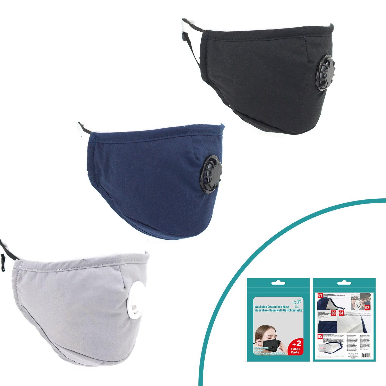 kein Woven Cloth mit 5 austauschbaren Schutzschichten f/ür Damen und Kinder.100pcs Aktivkohle-Filter