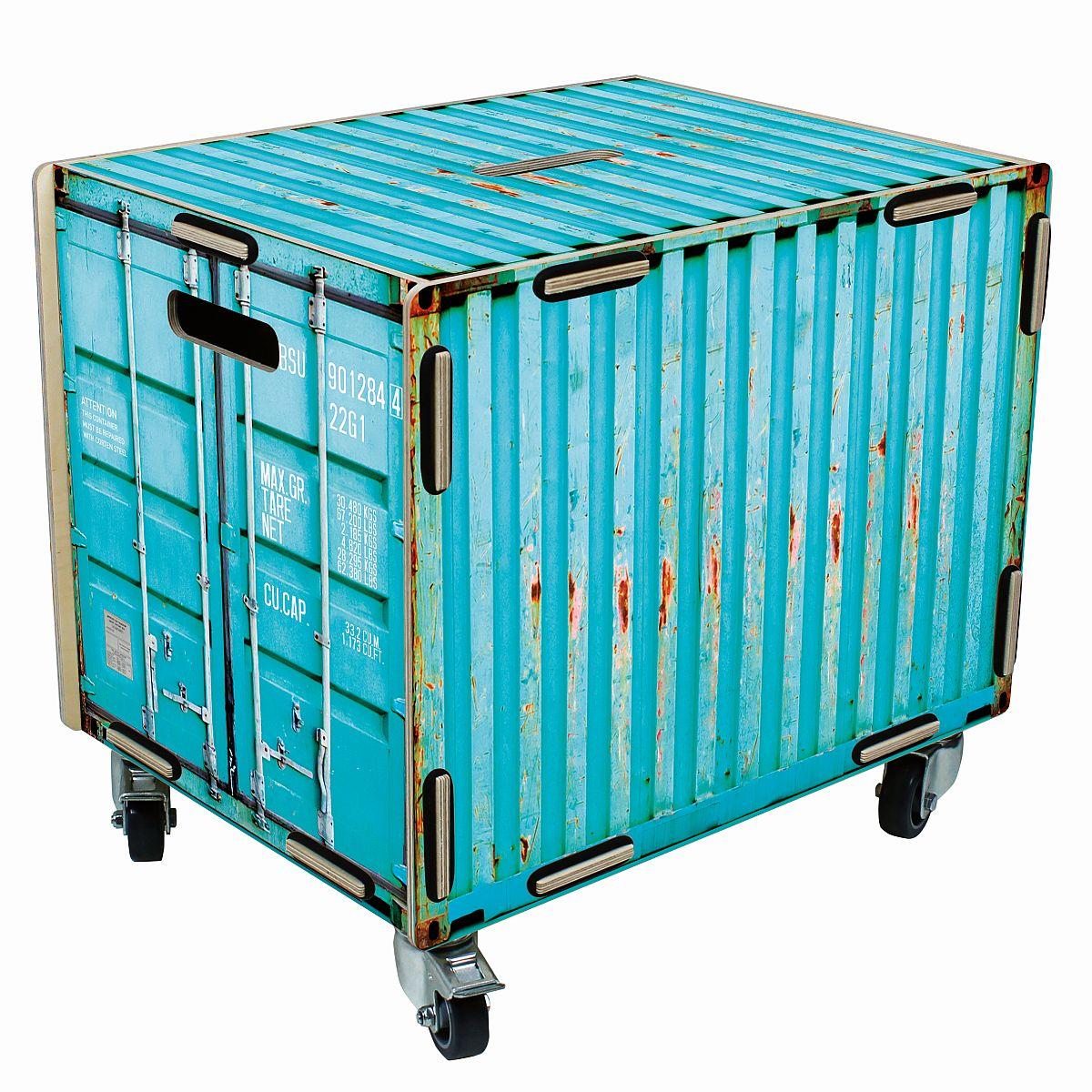 werkhaus rollbox container t rkis rb6002 rollcontainer kiste rolltisch box ebay. Black Bedroom Furniture Sets. Home Design Ideas