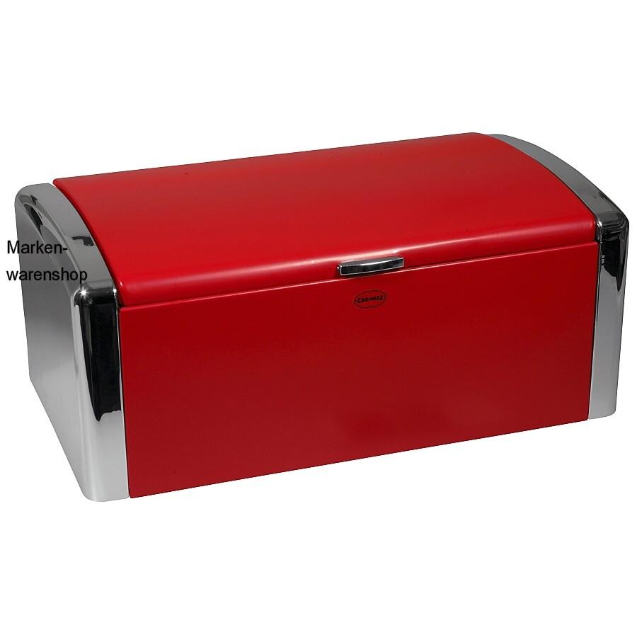 cabanaz retro brotkasten rot metall brotbox brotdose. Black Bedroom Furniture Sets. Home Design Ideas
