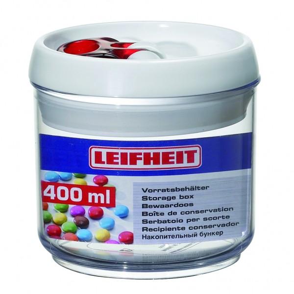 Leifheit Vorratsbehälter,Vorratsdose fresh & easy 400ml rund