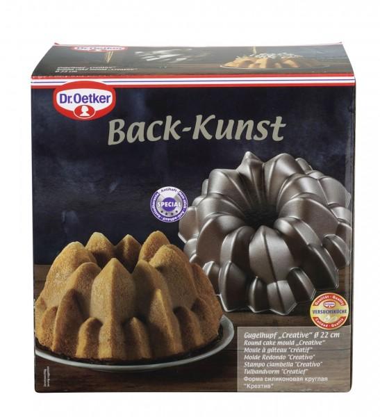 Gugelhupfform Backform Gugelhupf Creative Back-Kunst 22cm Aluguss Dr Oetker 2550