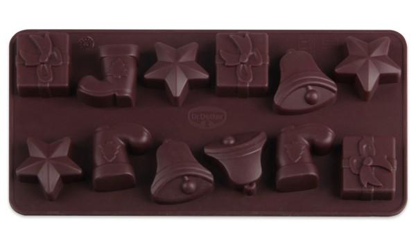 Dr. Oetker - Pralinenform 12 Köstlichkeiten (1297) Schokoladenform Confiserie