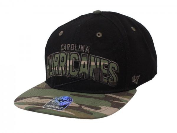 "47 Brand - NHL Cap Basecap Kappe Mütze Eishockey ""Carolina Hurricanes"" (Nr. 45)"
