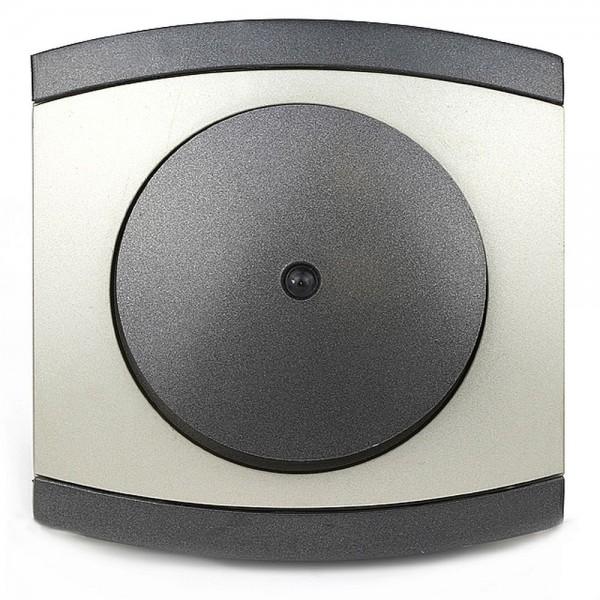 REV Modena Titan 854108 Kontroll-Wechselschalter Taster Schalter inkl. Rahmen