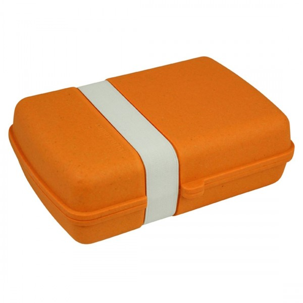 Zuperzozial Lunch Box Orange 1400333 Brotzeitdose Brotdose Brotbox Dose abbaubar