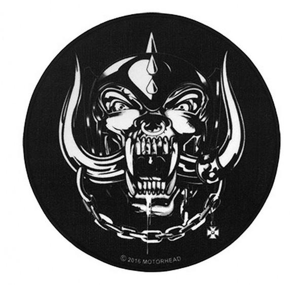 """Rockbites - Teppich """"Motörhead - Logo"""" Ø50cm Läufer Tür Fuß Schmutz Matte 100932"""