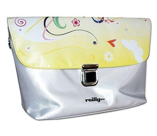 Reilly - Kosmetiktasche Kulturtasche Tasche weiß, Tiger