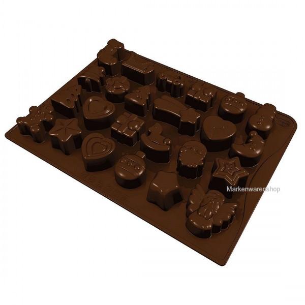 Dr. Oetker - Schokoladenform Silikon 24 Köstlichkeiten Pralinenform 2191