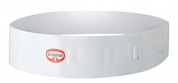 Dr. Oetker - 1643 Variabler Tortenring Füllring Ø 20-27cm, H 6 cm