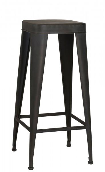 Ib Laursen - Barhocker Hocker Metall H 76cm (7215-18) Stuhl Industrial Factory