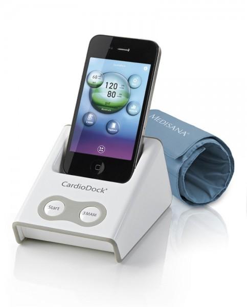 Medisana 51280 CardioDock 2.0 für iPod, ipad, iPhone Blutdruckmessgerät