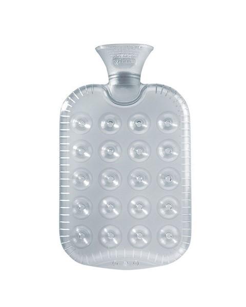 Wärmflasche Wärmekissen Waben wölbt sich nicht Transparent Fashy 6425-13