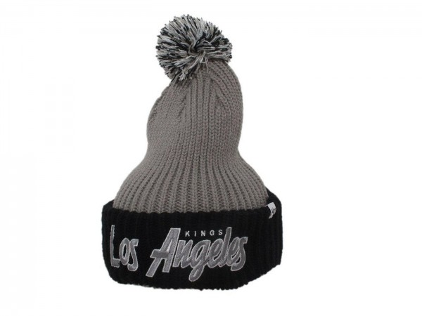 """47 Brand - NHL Cap Strickmütze Kappe Eishockey """"Los Angeles Kings"""" (Nr. 37)"""