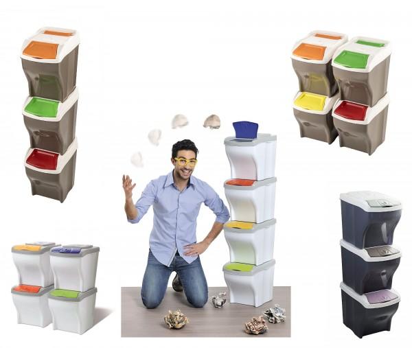 Auswahl Bama Abfallsammler Mülleimer Sets