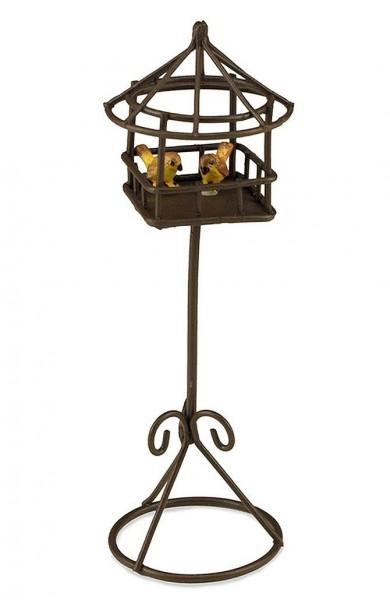 Reutter Porzellan Miniaturen - Vogelhaus (1.807/2) für Puppenstube Vogelkäfig