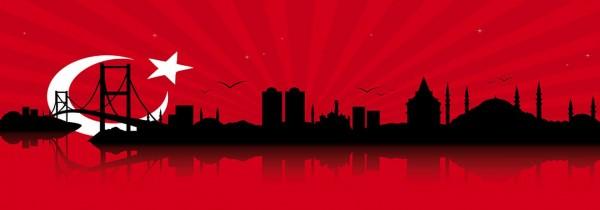 WOW Auswahl Glasbild 95x33cm Glasbild Wandbild Bild Echtglasbild Istanbul 11213-