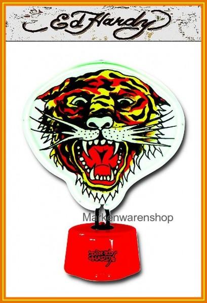 Ed Hardy Neonlicht Licht Leuchte Tischlampe Lampe Tiger