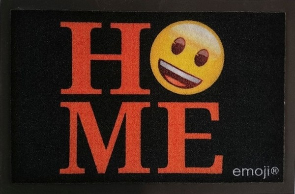 "Rockbites - Fußmatte ""Emoji - Home"" Türmatte Fußabstreifer (100918) Nr.114"