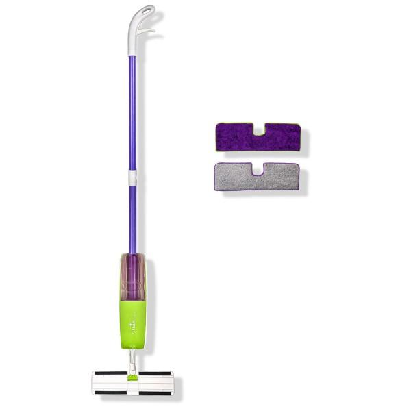Genius - Cleanissimo Spray Mop Set 3-tlg. Wischmop Bodenreiniger Wischer 13107