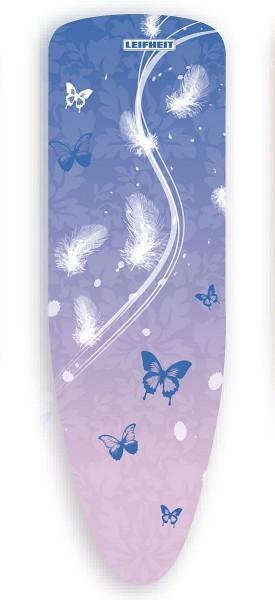 Leifheit - Bügelbezug Express Schmetterling 125x40cm Blau 72368 Bügelbrettbezug