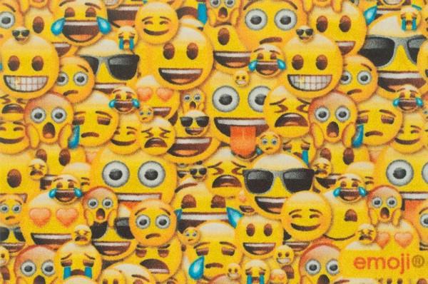 "Rockbites - Fußmatte Emoji ""Allover"" Türmatte Fußabstreifer (100915) Nr.110"