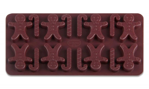 Dr. Oetker - Pralinenform Lebkuchenmann 1296 Schokoladenform Confiserie Silikon