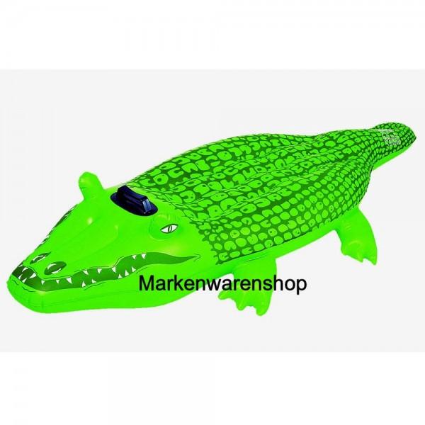 Fashy, Krokodil - Reiter, Wasserspielzeug Luftmatratze Strandspielzeug 14121