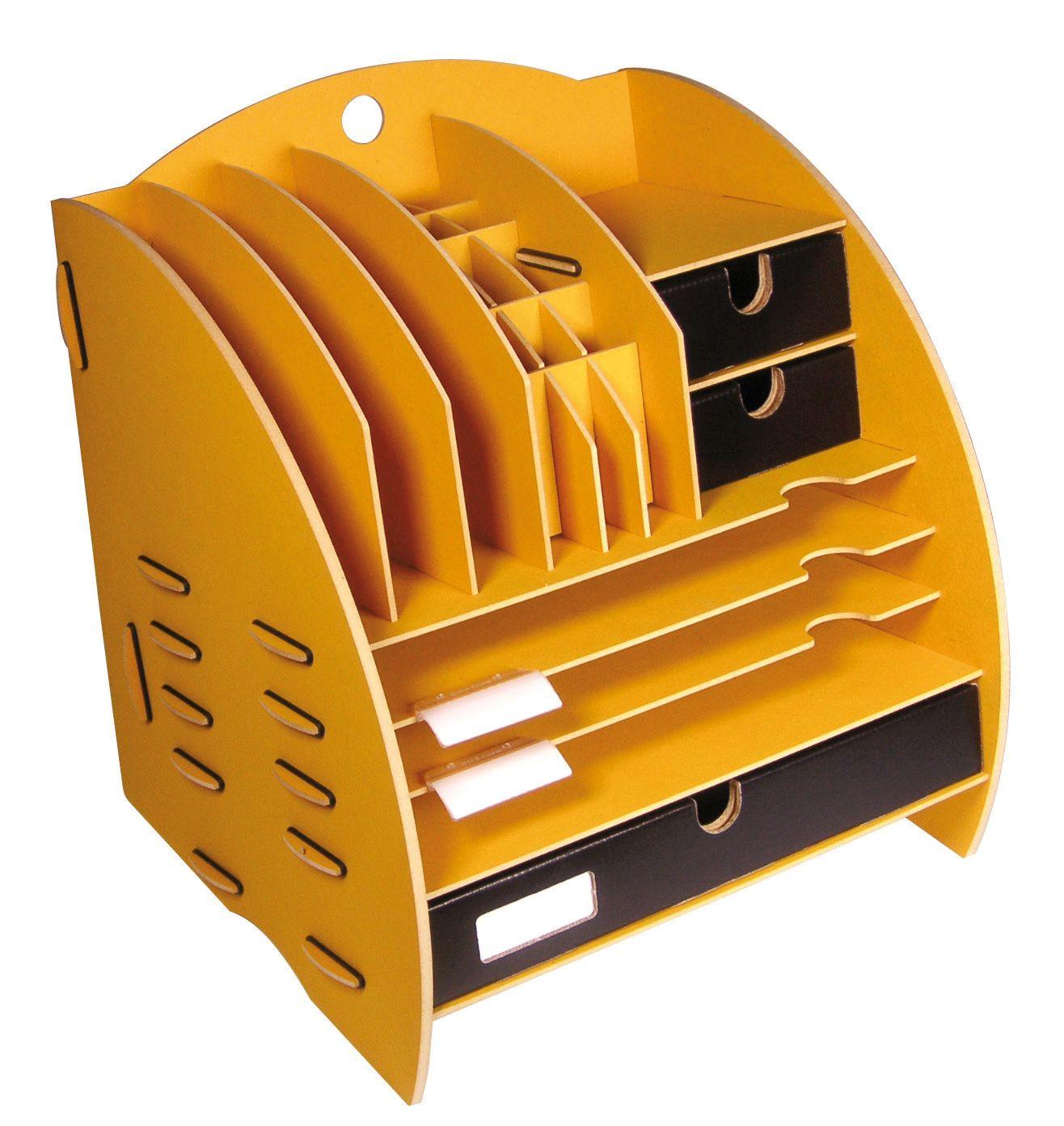 Ablage Schreibtisch Holz 2021