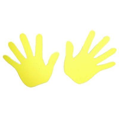 Cabanaz Wandhaken Hände - Gelb