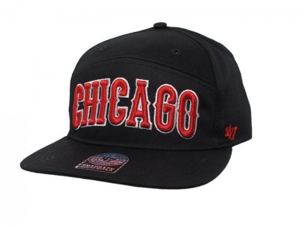 "47 Brand - NHL Cap Basecap Kappe Mütze Eishockey ""Chicago Blackhawks"" (Nr. 31)"