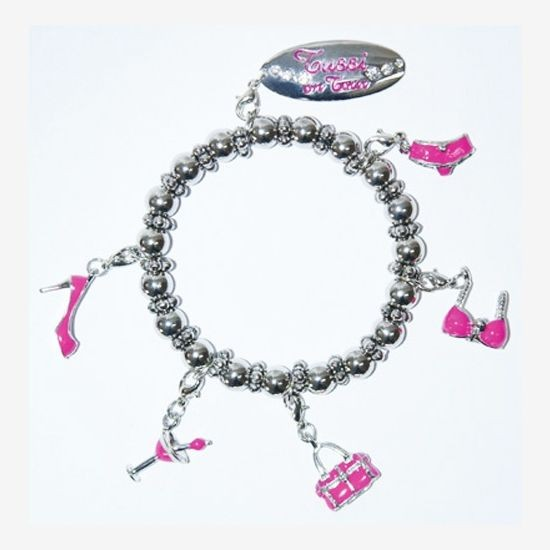 Tussi on Tour - Armband mit Charms (10536000), Schmuck Pink