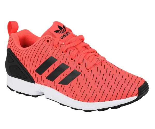Gr. wählbar - Adidas - ZX Flux Men - Herren Sneakers Rot (S75528) Turnschuhe