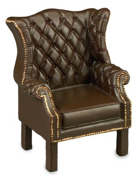 Reutter Miniaturen - Chippendale Sessel 1.768/0 Puppenstube Ohrsessel Sitzmöbel