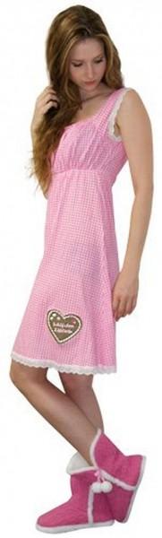 Hüttengaudi Nachthemd Schlafanzug Damen in 3 Größen S, M, L L