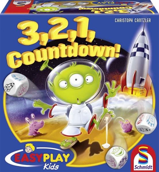 NEU Schmidt Spiele 3,2,1 Countdown Brettspiel