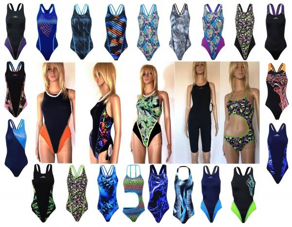 Modell Größe wählbar - Fashy Badeanzug Schwimmanzug Aquafeel Damen UVP 44,95€