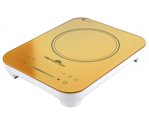 Genius - HeatVision Induktionskochfeld Keramik Ceran Kochplatte gelb 18009