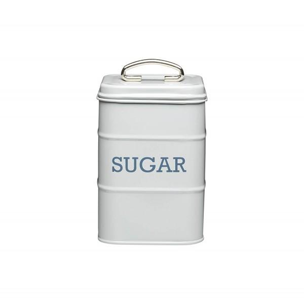 KitchenCraft - Zuckerdose Zucker Vorratsdose Vorratsbehälter Grau (LNSUGARGRY)