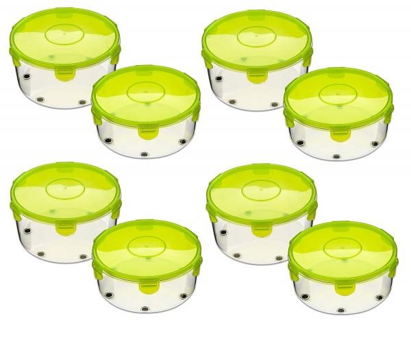 Genius - Salat Chef Smart / Roto Champ Schüssel Behälterset 16-tlg. grün 26217
