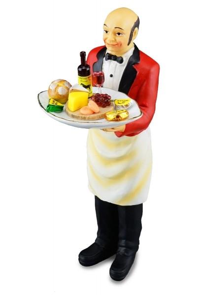Reutter Miniaturen - Butler mit Käseplatte 1.782/2 Puppe Kellner Ober Puppenhaus